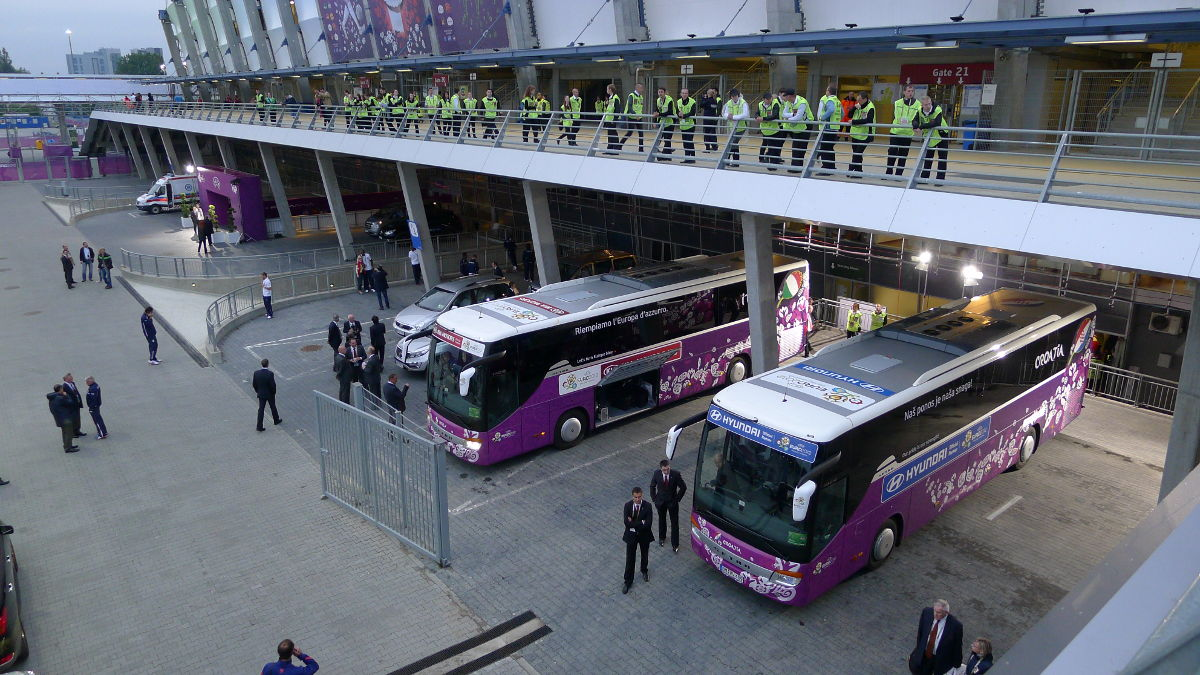 About Donetsk public transport to Euro 2012
